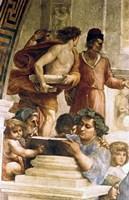 The School of Athens, 1509 Fine Art Print