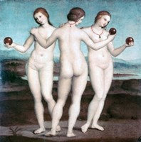 The Three Graces, 1504-1505 Fine Art Print