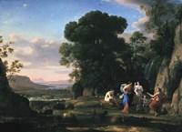 Judgement of Paris (1645-1646) Fine Art Print