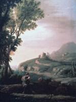Pastoral Landscape, c1620-1682 Fine Art Print