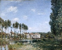 Moret, on the Banks of the Loing, 1892 Fine Art Print