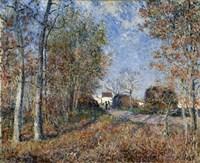 Corner of the Wood near Sablons, 1883 Fine Art Print