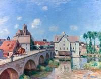 The Bridge at Moret, 1893 Fine Art Print