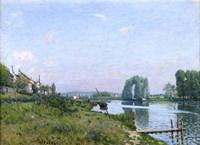 Ile Saint-Denis, 1872 Fine Art Print
