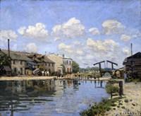 The Canal Saint-Martin, Paris, 1872 Fine Art Print
