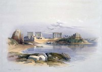 Philae, 1838 Fine Art Print