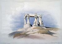 Temple of Wady Kardassy, Nubia, 19th century Fine Art Print