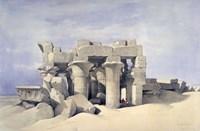 Temple of Sobek and Haroeris at Kom Ombo, 19th century Fine Art Print