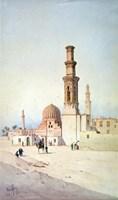 Tomb of the Califes, Cairo, c1907 Fine Art Print