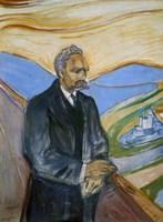 Friedrich Nietzsche, 1906 Fine Art Print