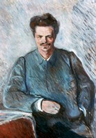 August Strindberg, 1892 Fine Art Print