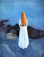 Young woman on the Seashore, 1896 Fine Art Print