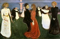 The Dance of Life, 1899-1900 Fine Art Print
