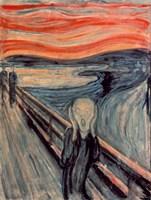 The Scream, 1893 Fine Art Print