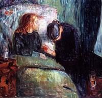 The Sick Child, 1907 Fine Art Print