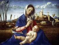 The Madonna of the Meadow, c1500 Fine Art Print