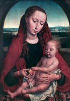 The Virgin and Child, c1453-1494 Fine Art Print