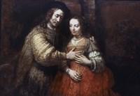 The Jewish Bride, (The Loving Couple), 1667 Fine Art Print