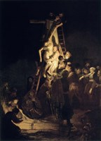 Descent From the Cross, 1634 Fine Art Print