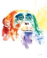 Chimpanzee I Fine Art Print