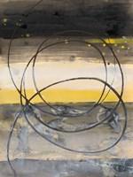 Horizon Balance I Framed Print