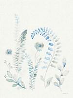 Malmo Garden II Linen Framed Print