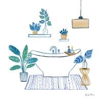 Relax II Tan Framed Print