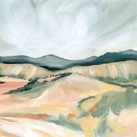 Vermillion Landscape II Fine Art Print