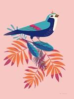 Exotic Birds III Framed Print