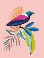 Exotic Birds I Framed Print