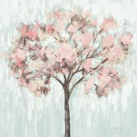 Blooming Tree Blush Crop Fine Art Print