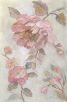 Romantic Spring Flowers II Framed Print