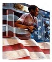 1955 Montgomery Bus Boycott Fine Art Print