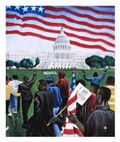 1963 March on Washington Fine Art Print