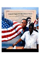 1965 Voting Rights Act Fine Art Print