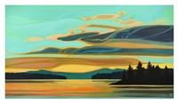 Cobalt Coast Fine Art Print