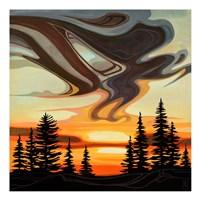 Sky Treasures Framed Print