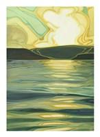 Sun-Kissed Waves II Fine Art Print