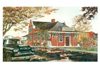 TH and B Station Fine Art Print