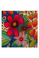 Floral Gala I Fine Art Print
