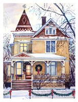 Victorian Christmas Fine Art Print