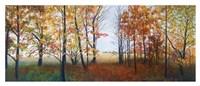 Autumn Walk Fine Art Print