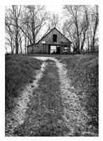 Barn and Hoop Fine Art Print