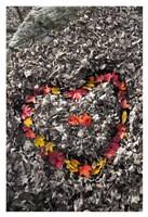 Love in the Leaves Fine Art Print