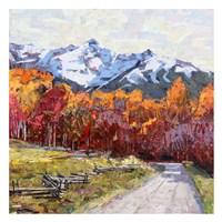 Rocky Mountain Road Fine Art Print