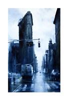 West 23rd Street & 5th Avenue, rain (Flatiron Building) Fine Art Print