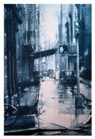 Crosby Street from Spring, rain Fine Art Print