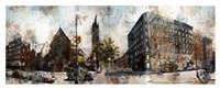 5th Avenue & West 127th Street Fine Art Print