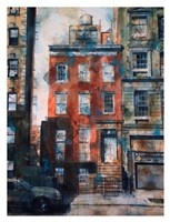 Hold Out, 111 W. 13th Street Fine Art Print