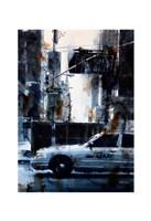 Lincoln Tunnel & 9th Avenue, rain Fine Art Print